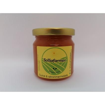 Gulrot & sitron marmelade
